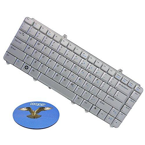 HQRP Clavier de remplacement pour Dell Inspiron 1420 / 1500 / 1540 / 1545 ordinateur portable + HQRP Sous-verre