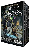 Clash of Heroes Special Edition: Books 1, 2 & 3 the Complete Series (The Ultimate Crossover Portal Fantasy Adventure) (English Edition)