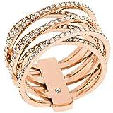 Joyería para Mujer Michael Kors Jewellery Statement Crossover Ring Size O