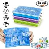 3 Stück Eiswürfelform Silikon Eiswürfel Form Eiswürfelbereiter Mit Deckel Eiswürfelformen