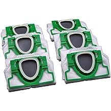 6Sacchetti per aspirapolvere Vorwerk Folletto 200Vorgefaltet in scatola di cartone