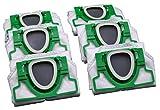 Spar Set - 18 Microvlies Staubsaugerbeutel geeignet Vorwerk Kobold VK 200 vorgefaltet im Karton