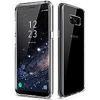 vau Samsung Galaxy S8 Plus Hülle - Ultra Hybrid Case transparent - Schutz-Tasche clear