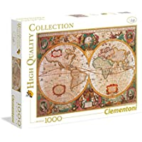 Clementoni Puzzle 31229 - Mappa Antica -  1000 pezzi High Quality Collection