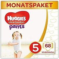 Huggies Windeln Ultra Comfort Pants Größe 5 Monatsbox, 1er Pack (1 x 68 Stücke)