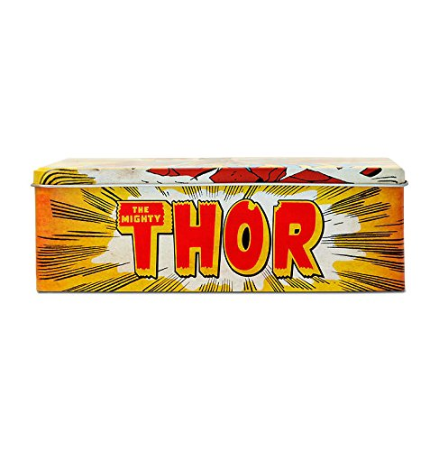 Caja El Poderoso Thor - Whoom ! - Lata de metal Marvel Comics Thor - Whoom ! - coloreado - Diseño original con licencia - Logoshirt