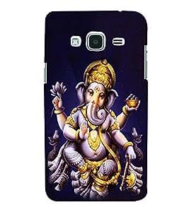 Ganpati 3D Hard Polycarbonate Designer Back Case Cover for Samsung Galaxy J3 2016 :: Samsung Galaxy J3 2016 Duos :: Samsung Galaxy J3 2016 J320F J320A J320P J3109 J320M J320Y