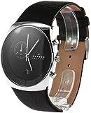 Skagen Herren-Armbanduhr Analog Quarz Leder SKW6070