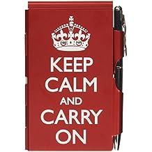 7a6b297a93be TROIKA KEEP CALM – FN1580 – Estuche metálico Flip Notes® incl. bloc de notas