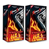 Kamasutra Intensity Pleasure Condoms (40 Condoms) - Pack of 2
