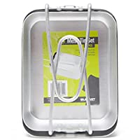 Summit Aluminium Folding Cooking Camping Mess Tins - Set of 2 17
