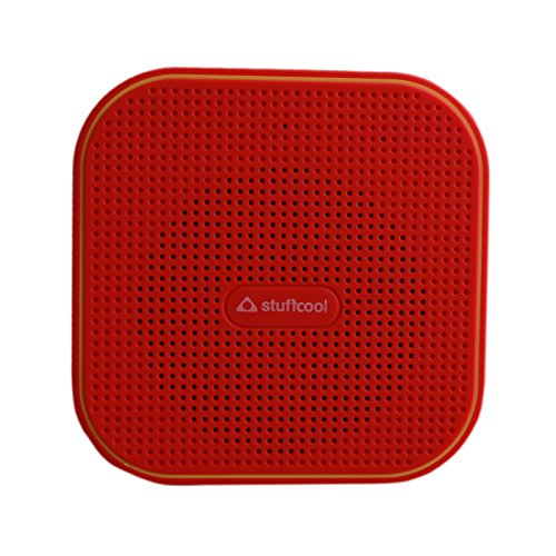 Stuffcool Monk Portable Wireless Bluetooth Speakers - Red / Yellow