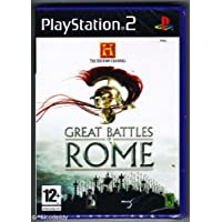 History Channel: Great Battles Of Rome (Ps2) - - Very Good Condition