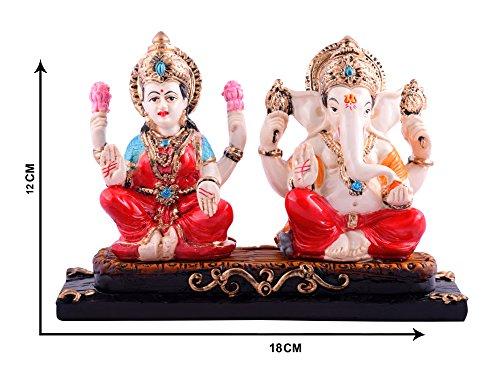Lakshmi Ganesh Premium statue Murti Vastu Fengshui Religious Idol statua scultura per auto/ufficio decorazione, regalo ideale per la vostra amata by Affaires g-462 - Scultura Auto