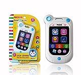 A-forest Elektronisches Spielzeug Baby Telefon Baby Smart Phone Lernhandy Telefone & Handys Baby- & Kleinkindspielzeug - Smart Phone wie App Symbole gestalteten Knöpfe, wird es mit Liedern (Weiß)