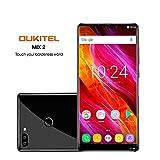 OUKITEL MIX 2 5.99 pollici (rapporto 18: 9) Android 4G Batteria 4080mAh Smartphone Octa Core 2.39GHz 6GB RAM 64GB ROM, 21MP+2MP Samsung Telecamere + 13MP Fotocamere Frontali Cellulari e Smartphone-nero