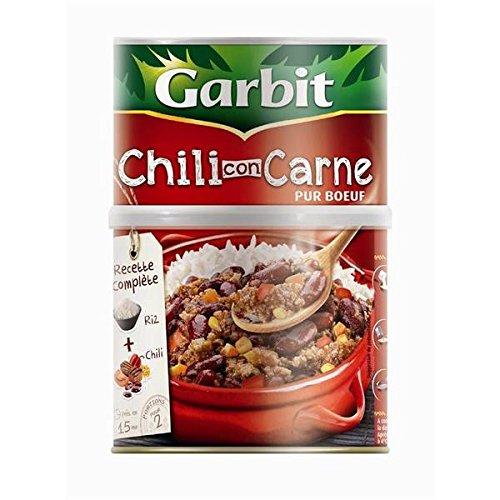 Garbit chili con carne et son riz cylindre 700g - ( Prix Unitaire ) - Envoi Rapide Et Soignée