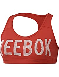 Amazon.fr   Reebok - Soutiens-gorge de sport   Sous-vêtements de ... dd83e4da5f2