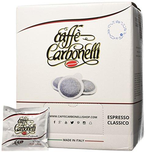 Caffè Carbonelli 150 Cialde Ese, Miscela Classic - 1 Scatola