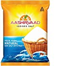 Aashirvaad Salt - Iodised, 1 kg Bag