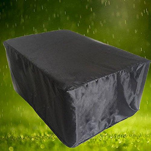 420D Oxford Wasserdicht Garten Outdoor Möbel Staubfrei, Grillabdeckung mit tragbarer Aufbewahrungstasche für große Rattan-Sets, Sofa-Sets usw. (HZ001)