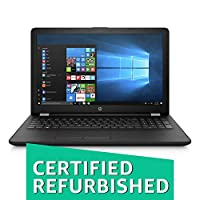 (CERTIFIED REFURBISHED) HP 15q-by002AX 2017 15.6-inch Laptop (Dual-Core A9-9420/4GB/1TB/Windows 10/2GB Graphics), Sparkling Black