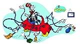 Eureka Dr. Seuss Giant Cat in Car Bulletin Board Sets