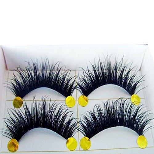 Faux Cils, Kolylong® Nouvelle 5 Paires Naturelle Longs Cils éPais De NoëL Partie Faux Cils Maquillage