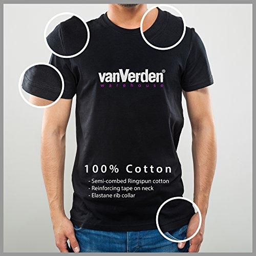 51UdisorCkL - vanVerden Herren Fun T-Shirt Männer Kochen Nicht Grillen Grillmeister Plus Geschenkkarte, Größe:XXL, Farbe:Schwarz