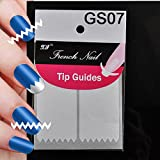 ELENXS Beauty Accessories 18 Style Chic DIY French Manicure Nail Art Tips Tape Sticker Guide Stencil