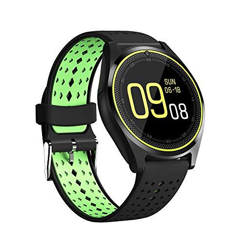 martwatch Fitness Uhr mit Kamera,Intelligente Armbanduhr,Fitness Armband Trackers Wasserdicht Mit Pulsmesser Smart Watch Armbanduhr Unterstützung Micro SIM Karte Schrittzähler ()