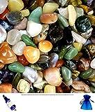 100g Assorted Tumblestones in Organza Pouch