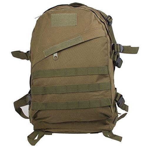 3D 40l Wasserdichter Taktischer Militärischer Rucksack Tasche Wanderrucksack Outdoor Reisen Armee Grün