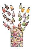 Aceite de fragancia de aromaterapia premium de efecto total. Gran variedad de perfumes: conjunto de regalo de botellas de 24/8 ml. Chocolate, Sándalo, Fresa, Jazmín, Canela, Algodón Fresco etc.
