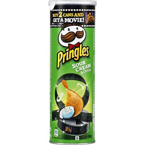 pringles Snack salé au goût crème acidulée et oignon - ( Prix Unitaire ) - Envoi Rapide Et Soignée