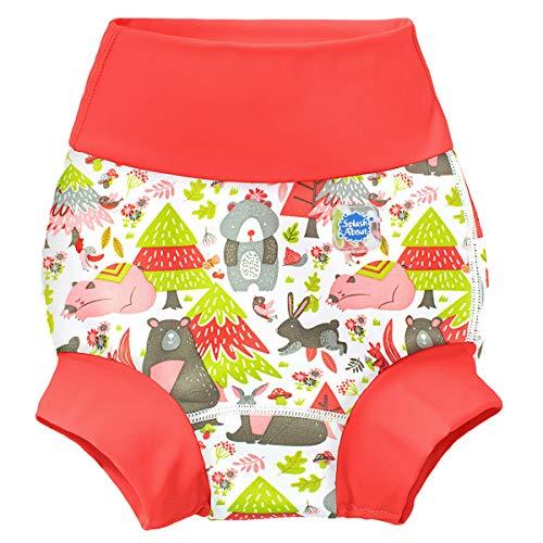 Splash About Couches de natation réutilisables Unisex-Baby, Multicolore (Into The Woods), XL / 1-2...