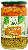Jardin Bio Petits Pois Carottes 660 g - Lot...
