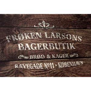 Schablone Bäckerei Kopenhagen – skandinavische hygge Deko