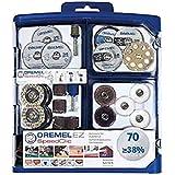 Dremel 2.615.E72.5JA Kit EZ Speed Clic 70 con accesorios variados