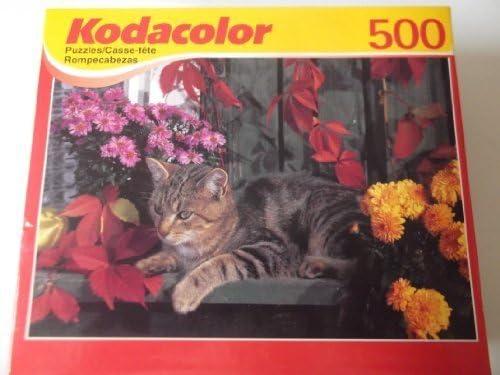 Kodacolor 500 Piece Cozy Cozy Cozy Kitten Puzzle by Kodak | Authentique  49d0e1