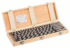 Bosch Professional 6tlg. Holzschlangenbohrer-Set mit