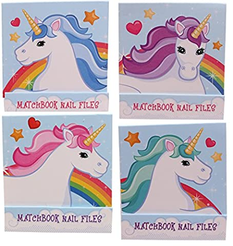 Gossip Girl - Cute Unicorn 4 x Nail File /