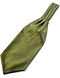 Green Cravat with small dots