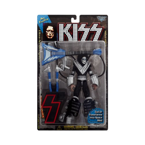 KISS Ultra Action Figures - 1st Letter Edition - Ace Frehley (Gene Simmons Figur)