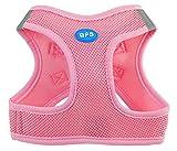 BPS® Hundegeschirr für Hunde, Haustiere, für kleine, mittelgroße und große Hunde, Rosa, Medium