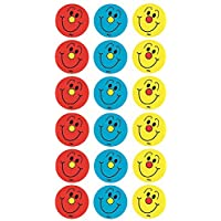 Sticker Solutions Motivational Reward Smiley Faces Stickers - Red/Blue/Yellow
