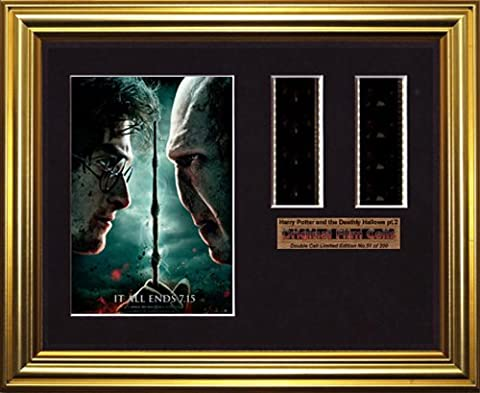 Harry Potter Reliques de la mort & pt.2–double filmcell Affiche Prints (gd)