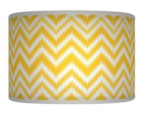 chevron-yellow-mustard-white-retro-handmade-geometric-giclee-style-printed-fabric-lamp-drum-shade-fl