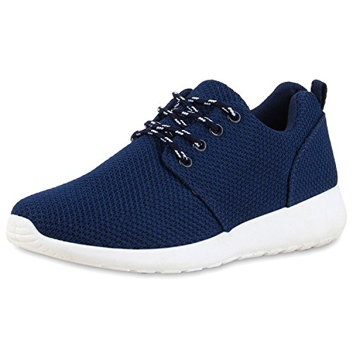 Ajvani, Sneaker donna blu navy