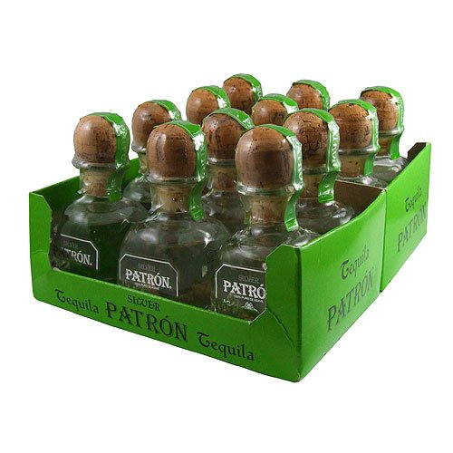 patron-silver-tequila-5cl-miniature-12-pack